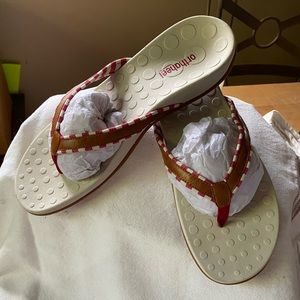 Orthaheel flip flop sandals